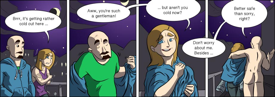 Piece of Me. A webcomic about selfless acts of chivalry.