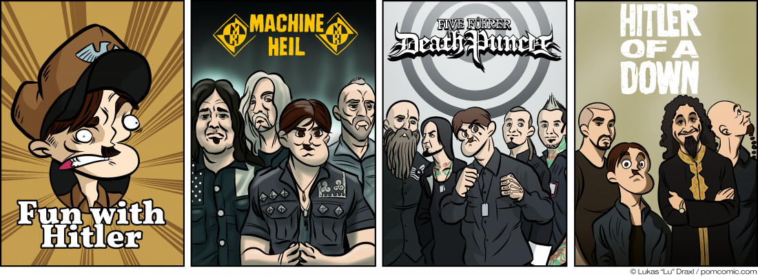 Piece of Me. A webcomic about more fun with Metal bands.