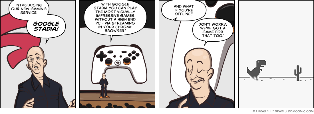 Piece of Me. A webcomic about streaming services.