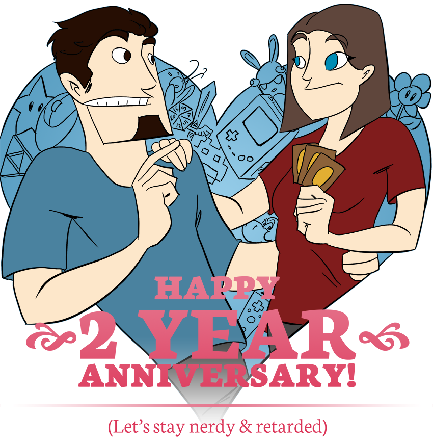 Piece of Me. A webcomic about happy anniversaries. Let's stay nerdy and retarded!