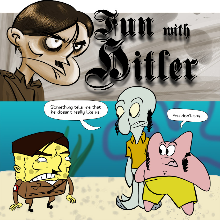 Piece of Me. A webcomic about underwater Hitler and his pals.