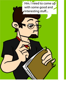 Piece of Me - A webcomic about my writer\'s block.