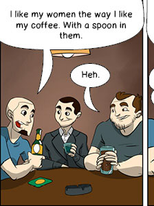 Piece of Me. A webcomic about stupid jokes and sophisticated statements.