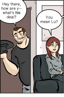 Piece of Me. A webcomic about really, really good headphones.