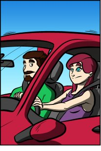 Piece of Me. A webcomic about annoying ... things taking up parking space.