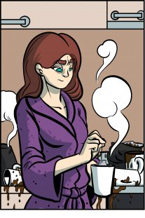 Piece of Me. A webcomic about overdoses and coffee.