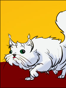 Piece of Me - A webcomic about the clumsiest cat ever.