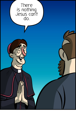 Piece of Me. A webcomic about Jesus' powers and some drawbacks.