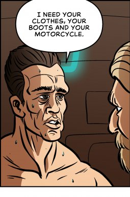 Piece of Me. A webcomic about alternate versions of great classic movies.