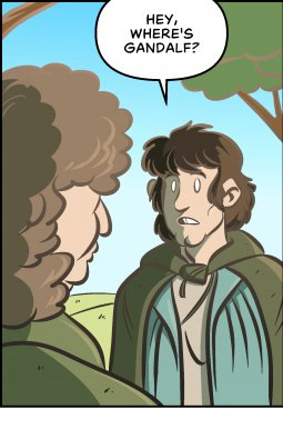 Piece of Me. A webcomic about Middle Earth's replacement sorcerers.