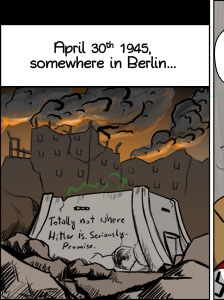 Piece of Me - A webcomic about the true cause of Hitler's death.