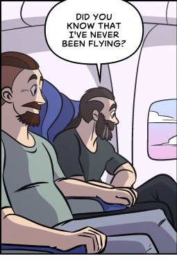 Piece of Me. A webcomic about first flights and signals.