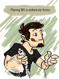 Piece of Me - A webcomic about awkward gaming moments.
